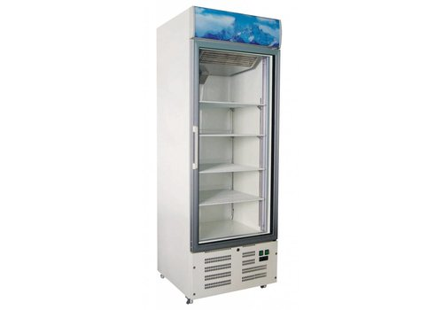 Combisteel Company Freezer with glass door 412 liters