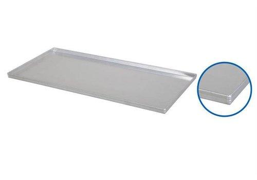HorecaTraders Aluminiumbackbleche 80x40 cm | 3 Formate