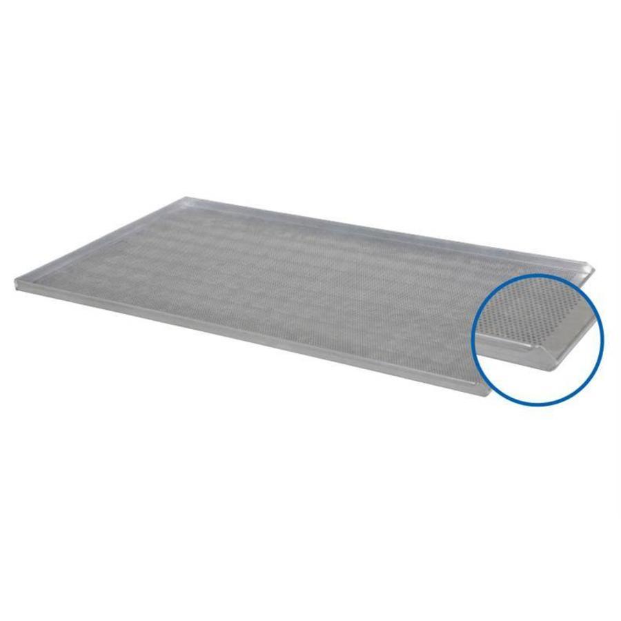 Geperforeerde Aluminium Bakplaat - 100 x 60 x 2,3 cm