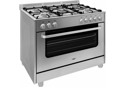 Saro Multifunctionele Fornuis Elektrisch Oven | 5 Pits