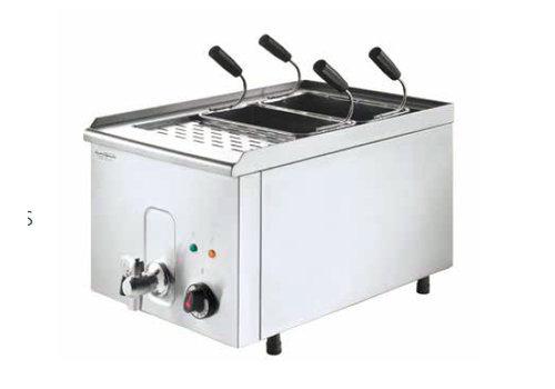 HorecaTraders Pasta Koker inclusief 4 manden 400 V / 4,5 kW
