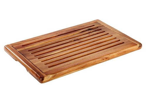 HorecaTraders Acacia Wood Cutting Board | 3 dimensions