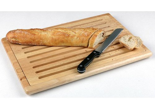 HorecaTraders Rubber Wood Cutting Board | 3 dimensions