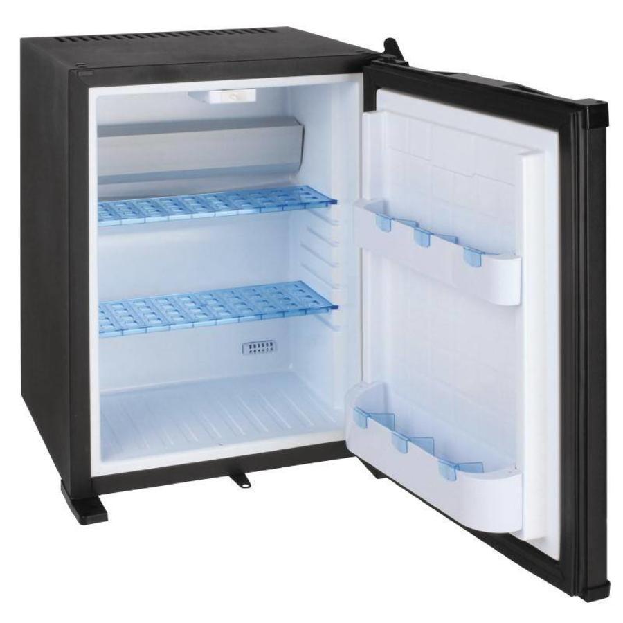 Mini fridge with lock 30 liters | Steel - BEST SOLD
