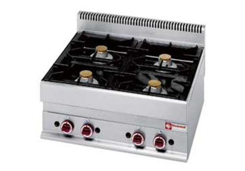 Diamond Fitted Gas Stove | 4 burners