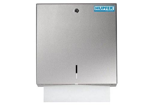 Hupfer RVS Handdoekdispenser met slot | 500 Vellen