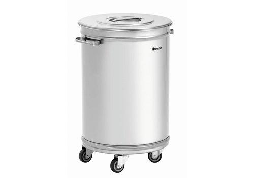 Bartscher Abfallbehälter mit Rädern | 56 Liter