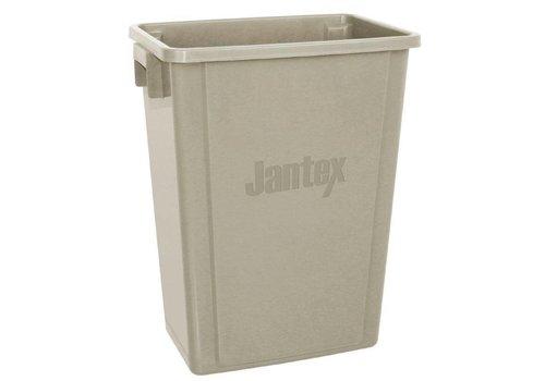 Jantex Plastic Recycle bin | 56 liters | Beige