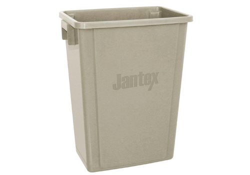 Jantex Plastikpapierkorb | 56 Liter | Beige