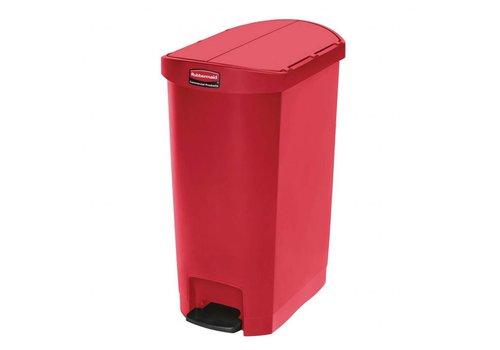 Rubbermaid Pedal Waste Bin 50 Liter   3 colors