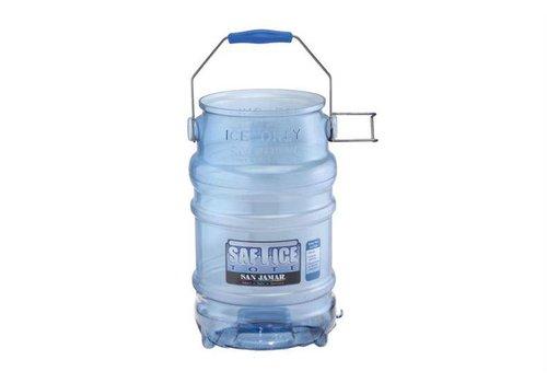 San Jamar Hygienic Ice Bucket - 9 kg of ice