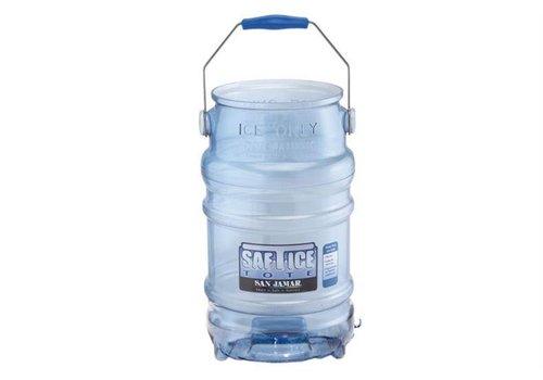 San Jamar Hygienic Ice Bucket - 11 kg of ice