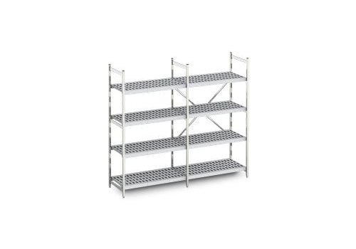 Hupfer Aluminium stelling Norm 12 40 cm diep | 10 formaten