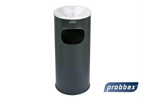 Plastibac Asbak/Afvalbak Met Binnenemmer | Grijs - 30 L
