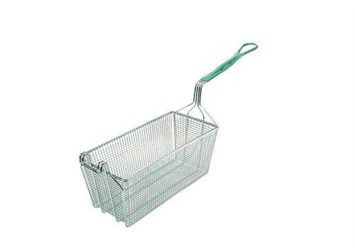 HorecaTraders Frying basket made of plastic handle | 2 formats