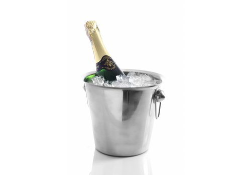 Hendi Weinkühler aus Edelstahl - mit Ring Oren | 3,3 Liter
