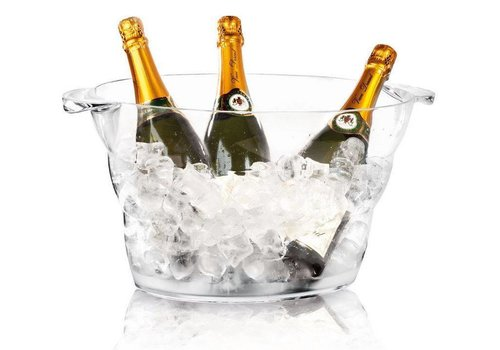 Hendi Champagnekoeler Transparant Wouter Pro