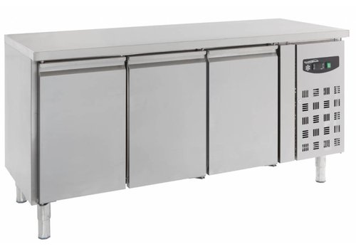 Combisteel Cool workbench 3 doors Stainless steel | 123 x 48 x 56 cm