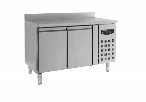 Combisteel Cool Workbench with backsplash | 136 x 70 x 85/95 cm