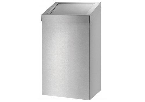 HorecaTraders Stainless steel waste bin | 20 L