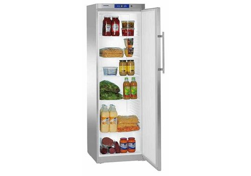 Liebherr GKv 4360 Fridge | Stainless steel | 332 liters