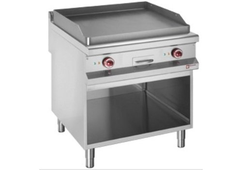 Diamond Griddle   Electric   Flat baking tray 400V   Open closet