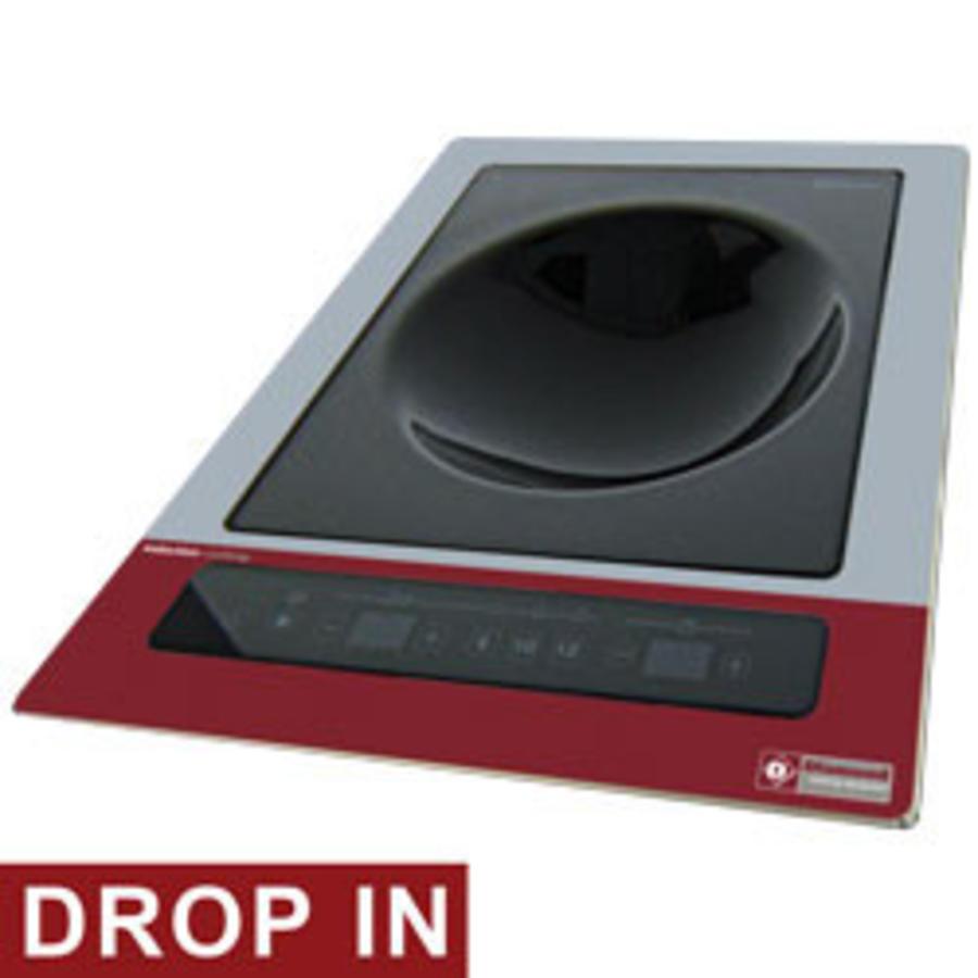 Induction Plate Wok Installation 3600Watt   Tactile tests