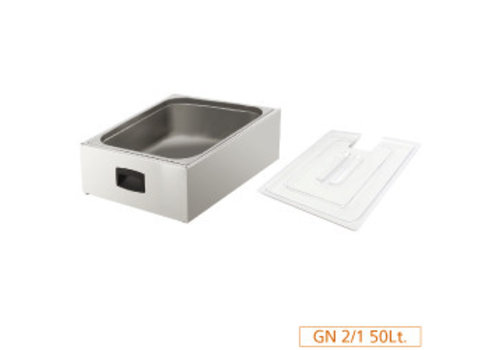 Diamond Kuip GN 2/1 for lid with lid | Cooking plus