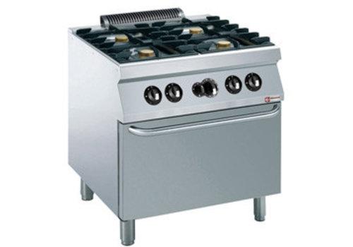 Diamond Diamond Gas Stove With Gas Oven | 4 x 5.5 kW burners