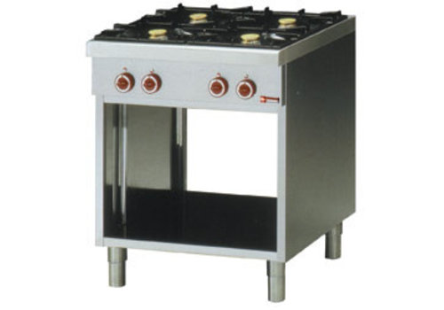 Diamond Gas cooker | 4 burners and open cupboard