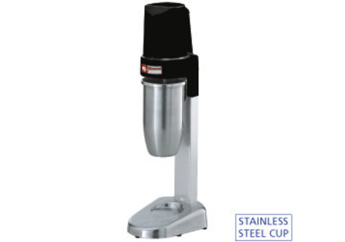 Diamond Milk shaker | 1 stainless steel glass cl cl