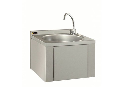 Sofinor Washbasin With Crane & Knee Control | Stainless steel