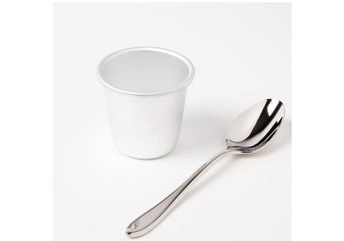 Vogue Aluminium puddingvorm 58x50mm | 2 Maten