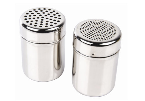 HorecaTraders Stainless steel sugar blender 27,5cl | 2 formats