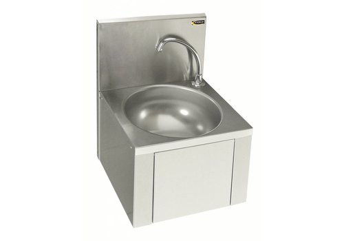 Sofinor Washbasin with knee control | Stainless steel