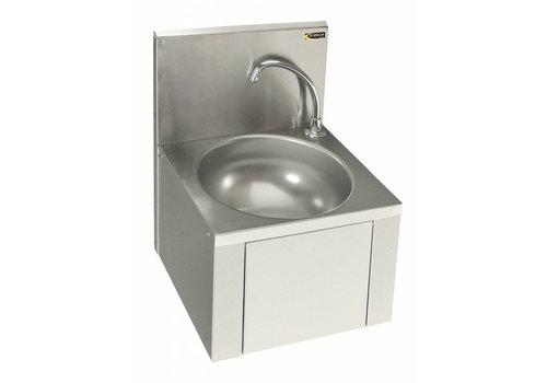 Sofinor Stainless Steel Washbasin With Knee & Crane
