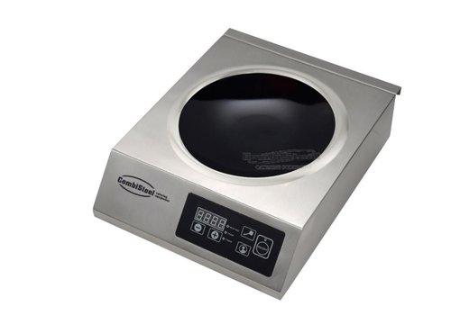 Combisteel Inductie wokplaat