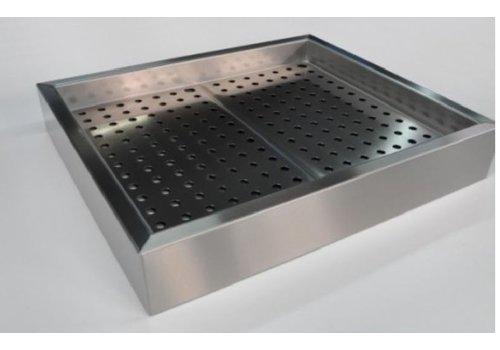 HorecaTraders Zerstoßenes Eis gastro standard bake b 104,2 xd 59 xh 17 cm