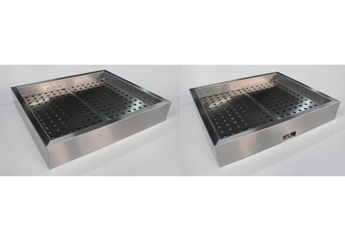Combisteel Crushed ice gastronorm bake b 136.2 xd 59 xh 17 cm