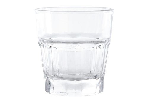 Olympia Drinking glass, panel, 240 ml (12 pieces)