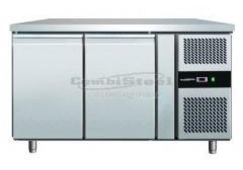 Combisteel Freeze-Workbench 2 Türen 136x70x86 cm (BxTxH)
