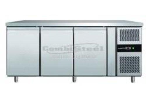 Combisteel RVS Vrieswerkbank | 2 deuren | 179,5x70x86 cm