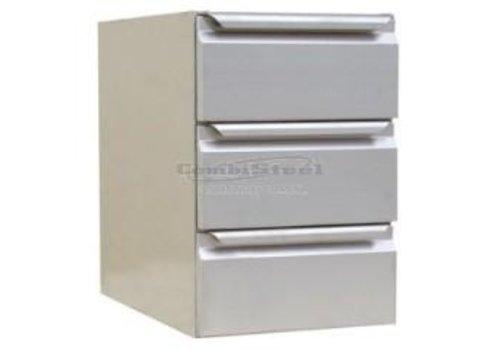 Combisteel RVS ladenkast | 40 x 63 x 59 cm