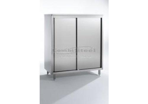 Combisteel Cupboard with 4 shelves, W 2000 mm