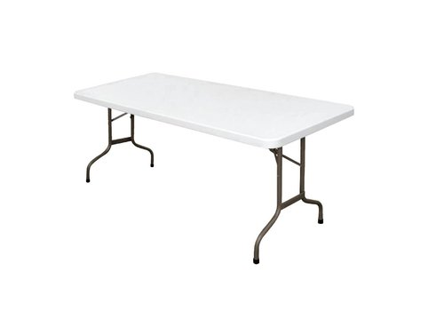 Bolero Party table White Collapsible 183 cm