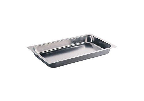Bourgeat Roasting pan stainless steel GN1 / 1 20mm
