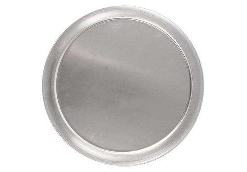 HorecaTraders Pizza Tiefe Aluminium-Platte | 30cm