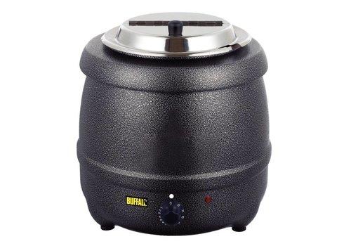 Buffalo Soup Kettle Black - 10 Liter MUCH FOR LITTLE!