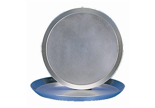 HorecaTraders Stevige Pizzapan Staal | 30cm