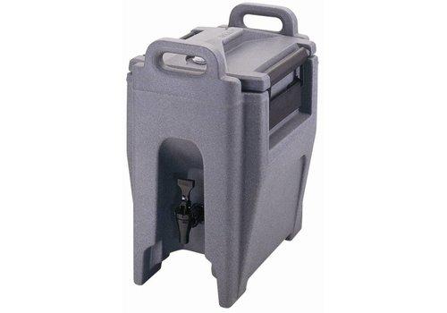 Cambro Beverage Container Gray T434 | 12 liter